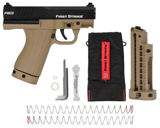 FIRST STRIKE COMPACT FSC PAINTBALL PISTOL - TAN/BLACK