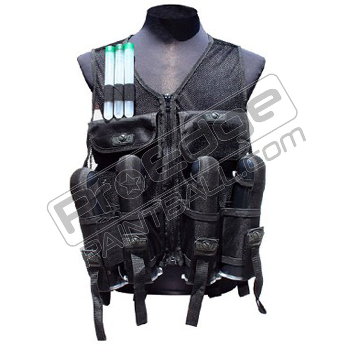 Gen X Global Lightweight Paintball Vest- Black