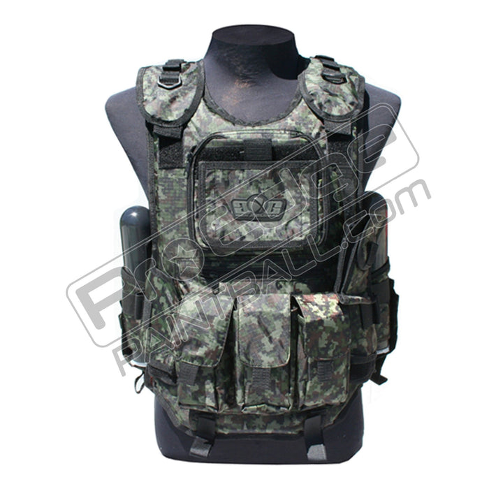 Gen X Global Tactical Vest Paintball Harness - Digi Camo
