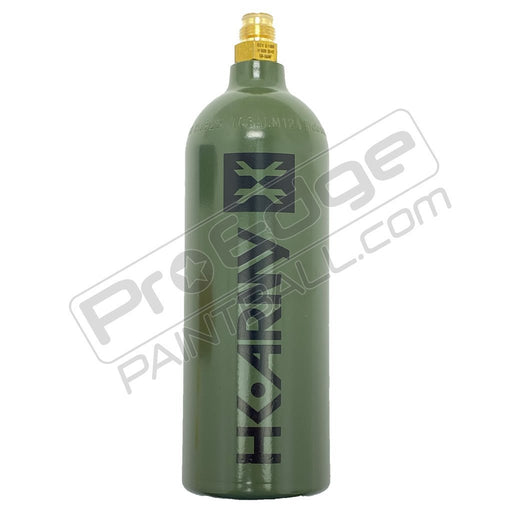 HK Army CO2 20oz Paintball Tank OLIVE - NOT FILLED