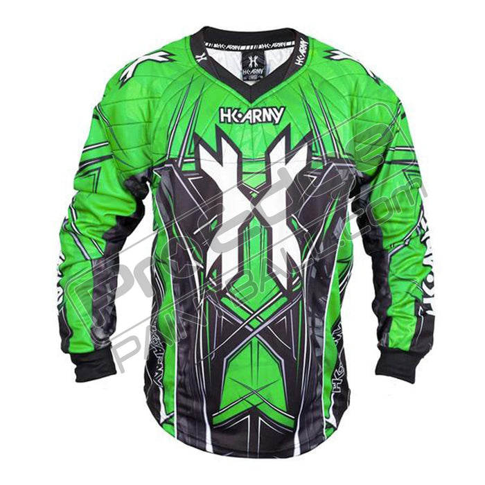 HK Army HSTL Paintball Jersey-Lime