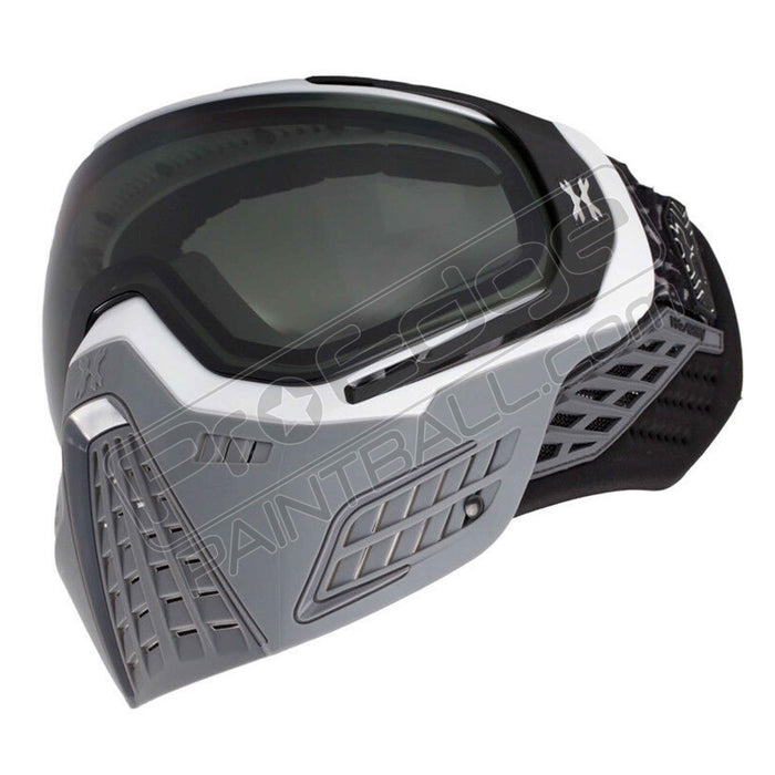 HK Army KLR Paintball Mask- White/Grey Slate