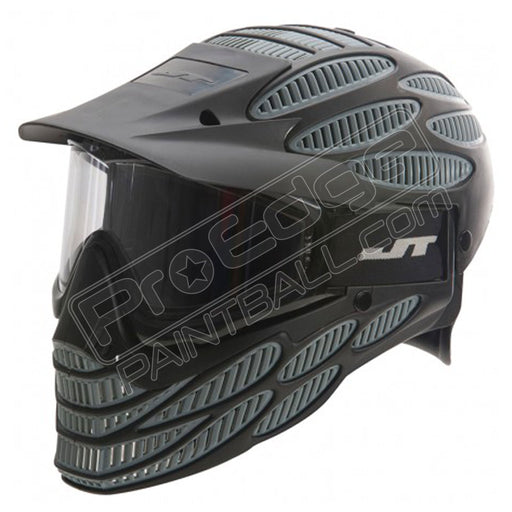 JT Flex 8 Full Head Shield- Black/Grey