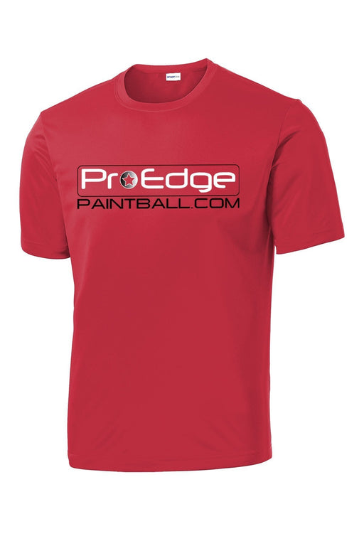 Pro Edge Logo Red // Dri-Fit Performance