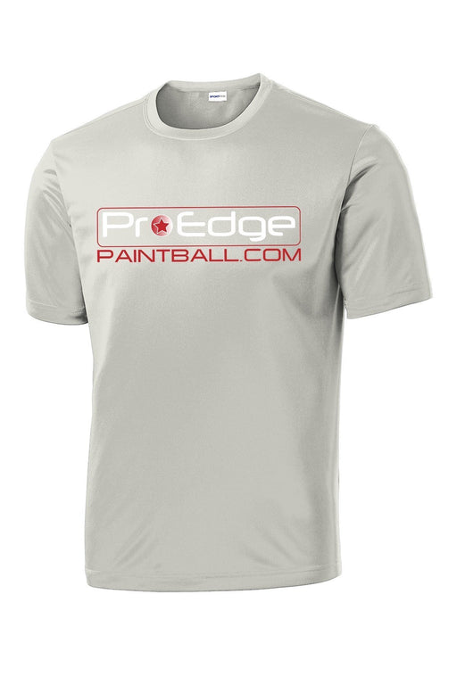 Pro Edge Logo Silver // Dri-Fit Performance