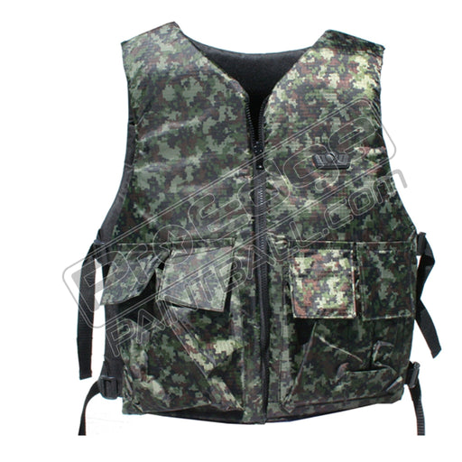 Reversible Basic Tactical Vest (Digi Green)