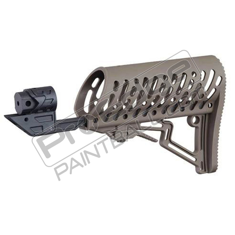 Tippmann TMC Air-Thru Adjustable Stock - Tan