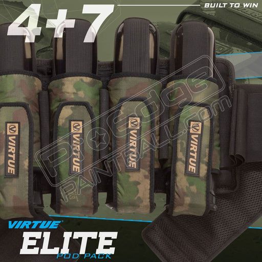 Virtue Elite Pack 4+7 - Reality Brush Camo