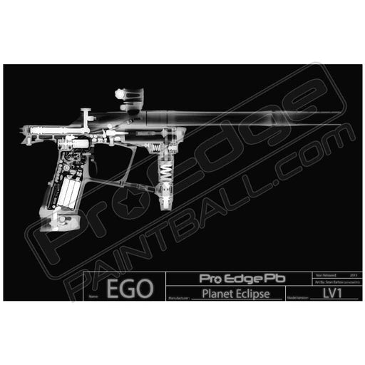 X Ray Paintball Poster - EGO (Free UPS Ground Shipping Included)