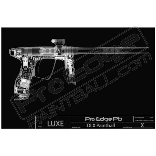 X Ray Paintball Poster - LUXE (Free UPS Ground Shipping Included)