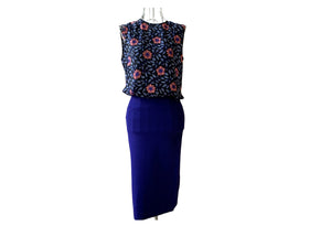 Diane Von Furstenberg - Top and Pencil Skirt