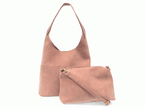 Vegan Leather - Hobo Handbag
