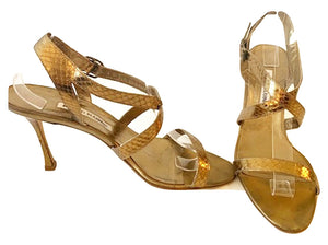 Manolo Blahnik - Strappy Leather Sandal