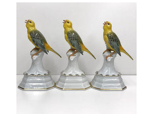 Vintage Rosenthal - Trio of Birds