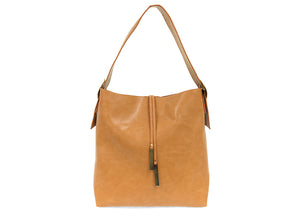 Vegan Leather - Hobo with Tassel Handbag