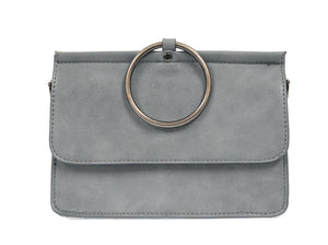 Vegan Leather - Crossbody Clutch Handbag