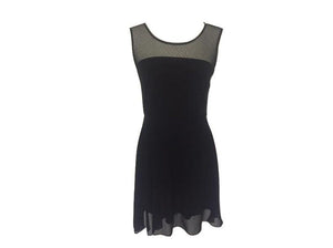 viaStrozzi Black - Eyelet Dress