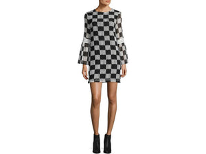 Nicole Miller Artelier - Bell Sleeve Dress