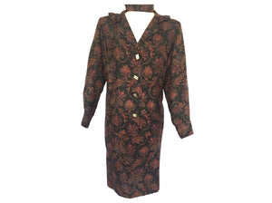Vintage Custom - Paisley 2 Piece Suit