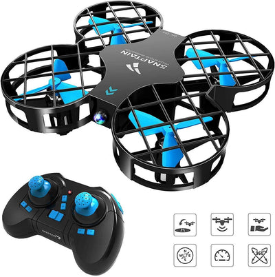SNAPTAIN H823H Plus Mini Drone for Kids (BLUE)
