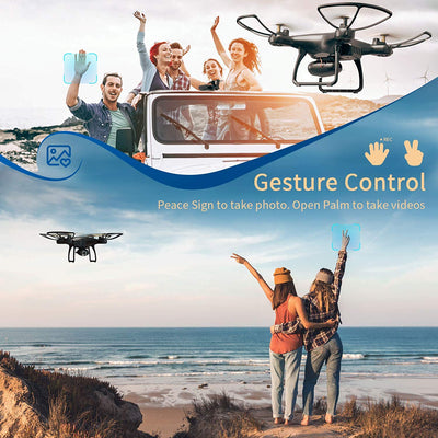 SNAPTAIN SP650 1080P HD Camera Beginner Drone