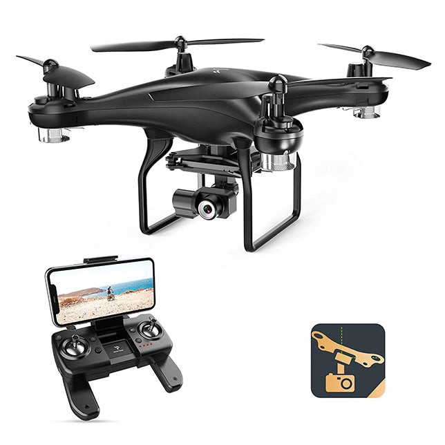 SNAPTAIN SP600N GPS Drones with Camera w/2-Axis Gimbal