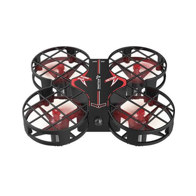 SNAPTAIN H823H Portable Mini Drone for Kids, RC Pocket Quadcopter (Red)