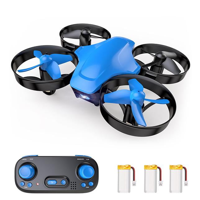 SNAPTAIN SP350 Mini Drone for Kids/Beginners, Portable Throw'n Go RC Quadcopter