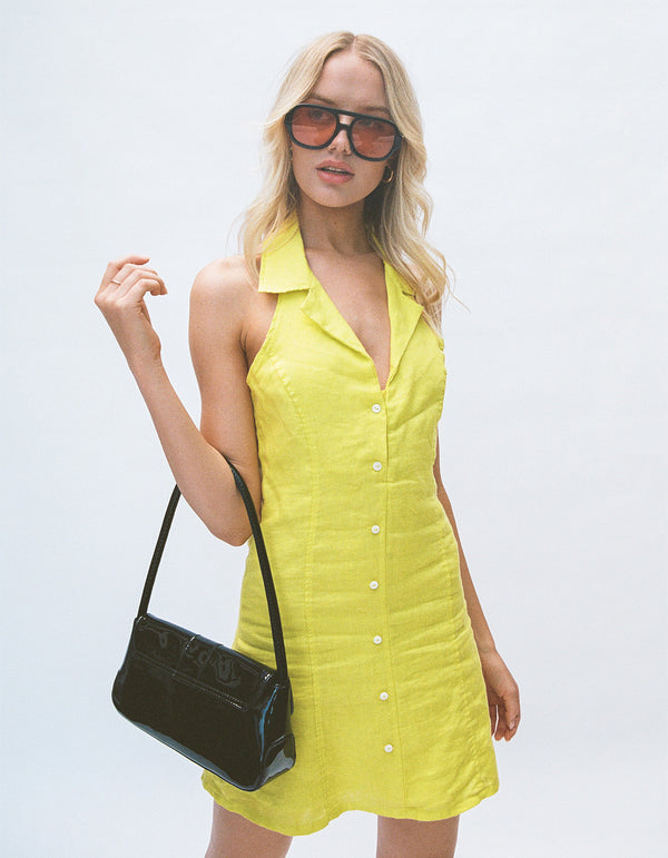 Miami Dress Lemon