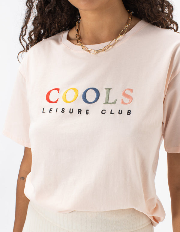 Leisure Club Sunday Tee Peach
