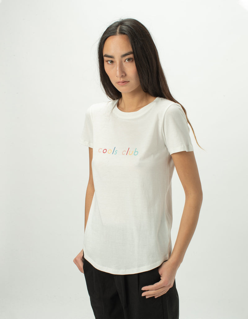 Colour Member Classic Tee White - Sale