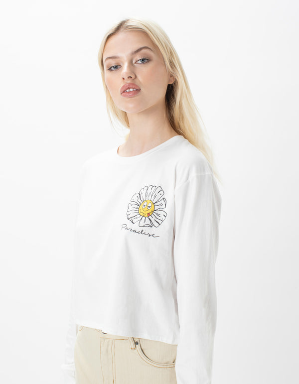 Paradise LS Tee Off White