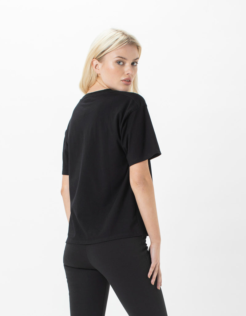 Paradise Sunday Tee Black