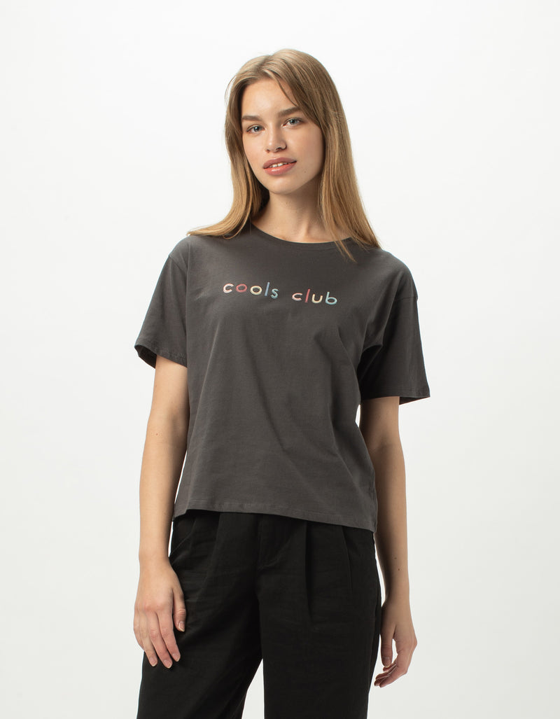 Cools Club Sunday Tee Vintage Black