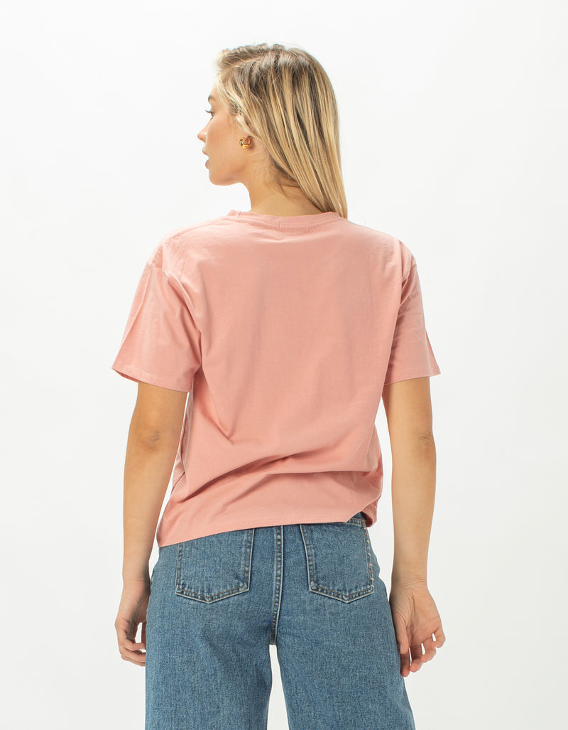 All Day Buffet Sunday Homegirl Tee Blush