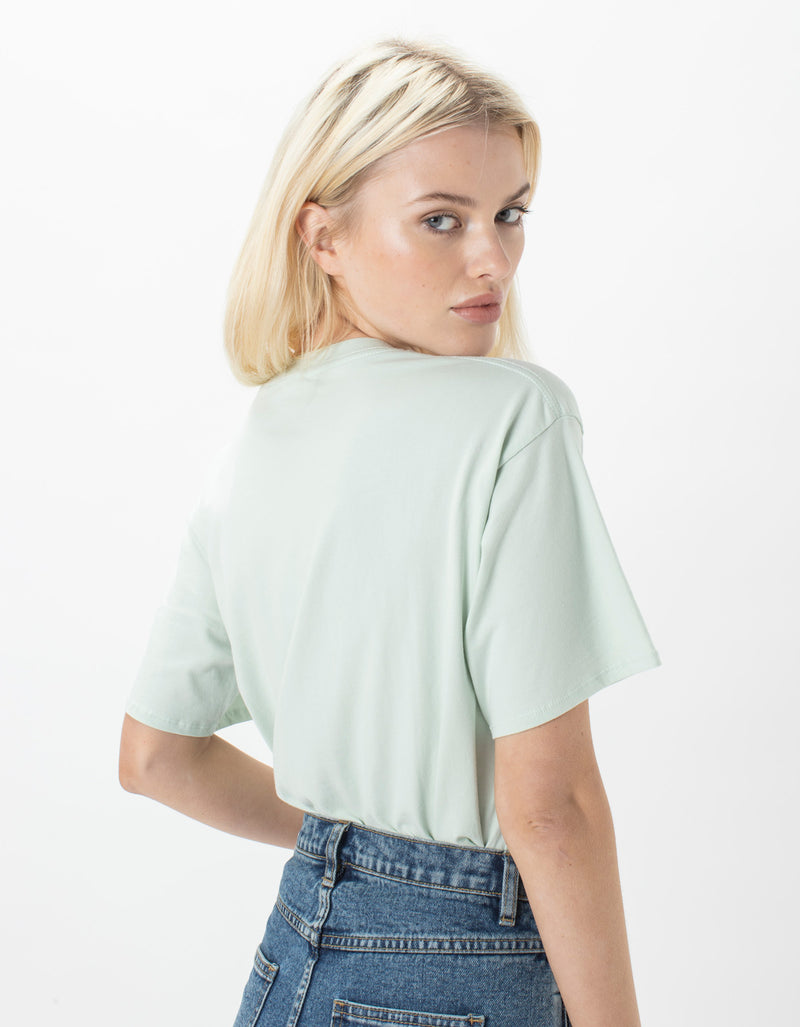 Leisure Club Sunday Tee Mint