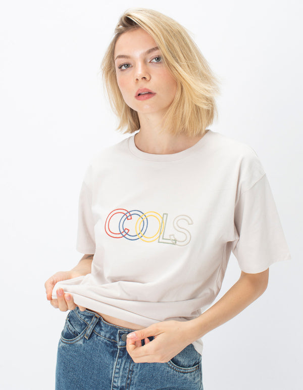 Sunday Tee Oyster White