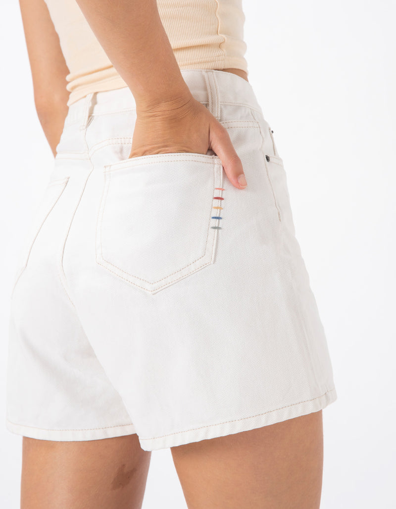 Cools Classic Jean Shorts White