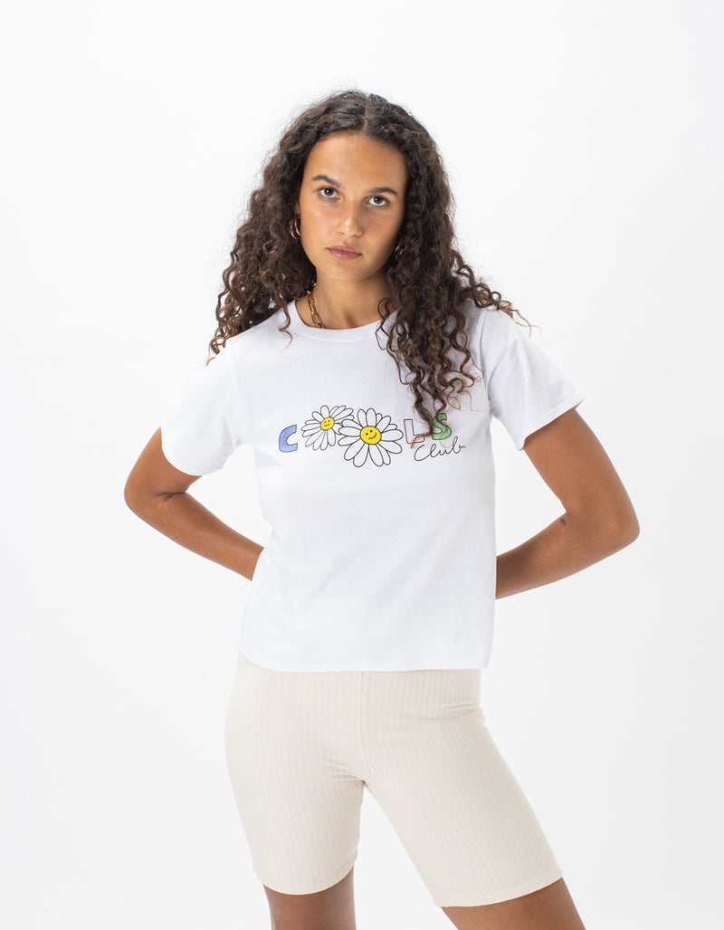Daisy Dream Real Tee White