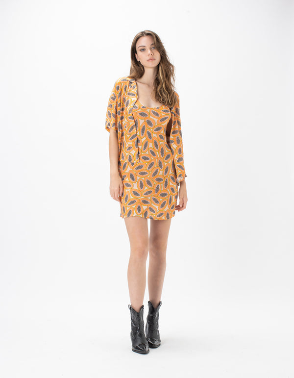 Resort Shirt Papaya