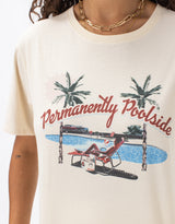 Poolside Sunday Tee Oatmeal