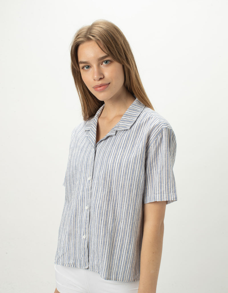 Resort Shirt Blue Stripe - Sale