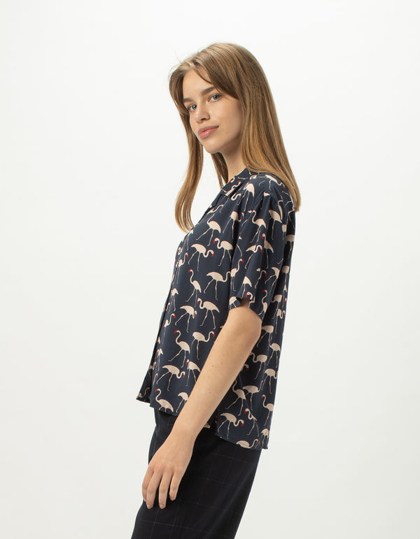 Resort Shirt Flamingo