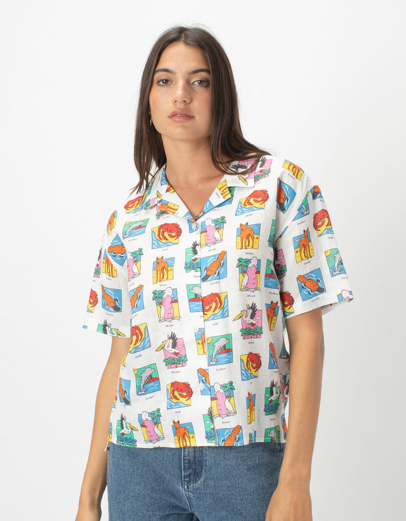 Resort Shirt Aussie Summer