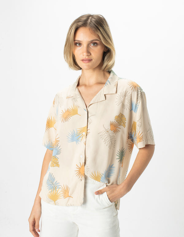 Resort Shirt Cashew Floral - Sale