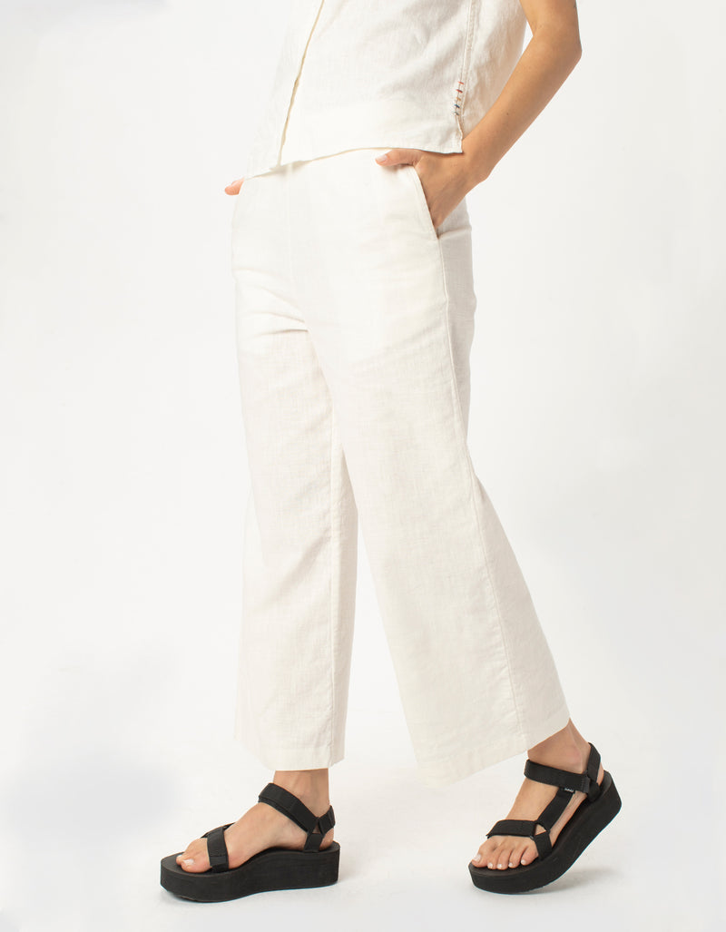 Easy Pants White
