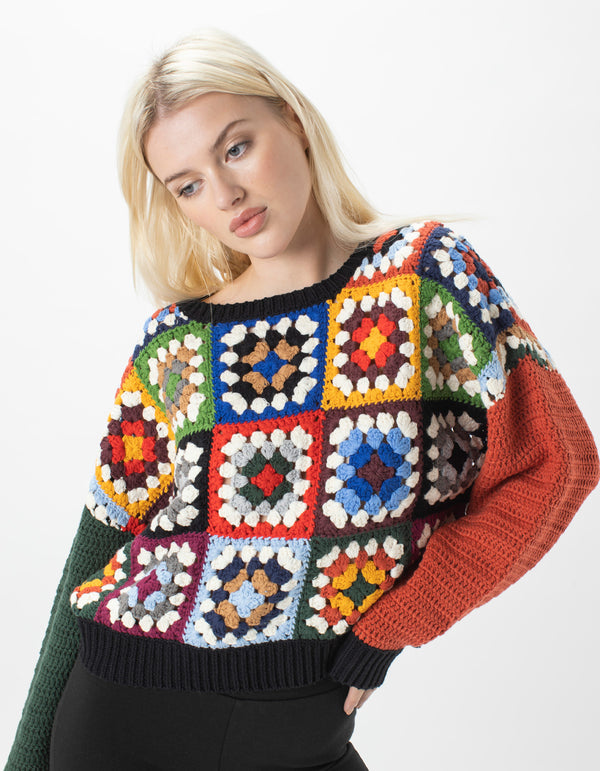 Crochet Knit Patchwork