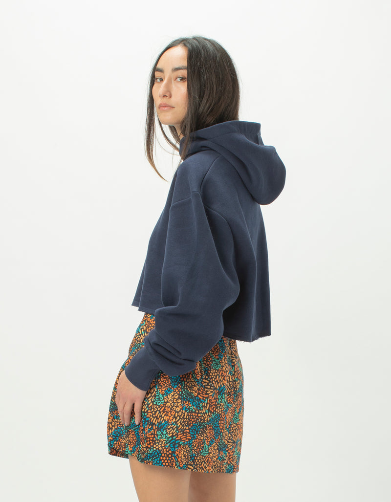 Colour Cools Crop Hood Midnight