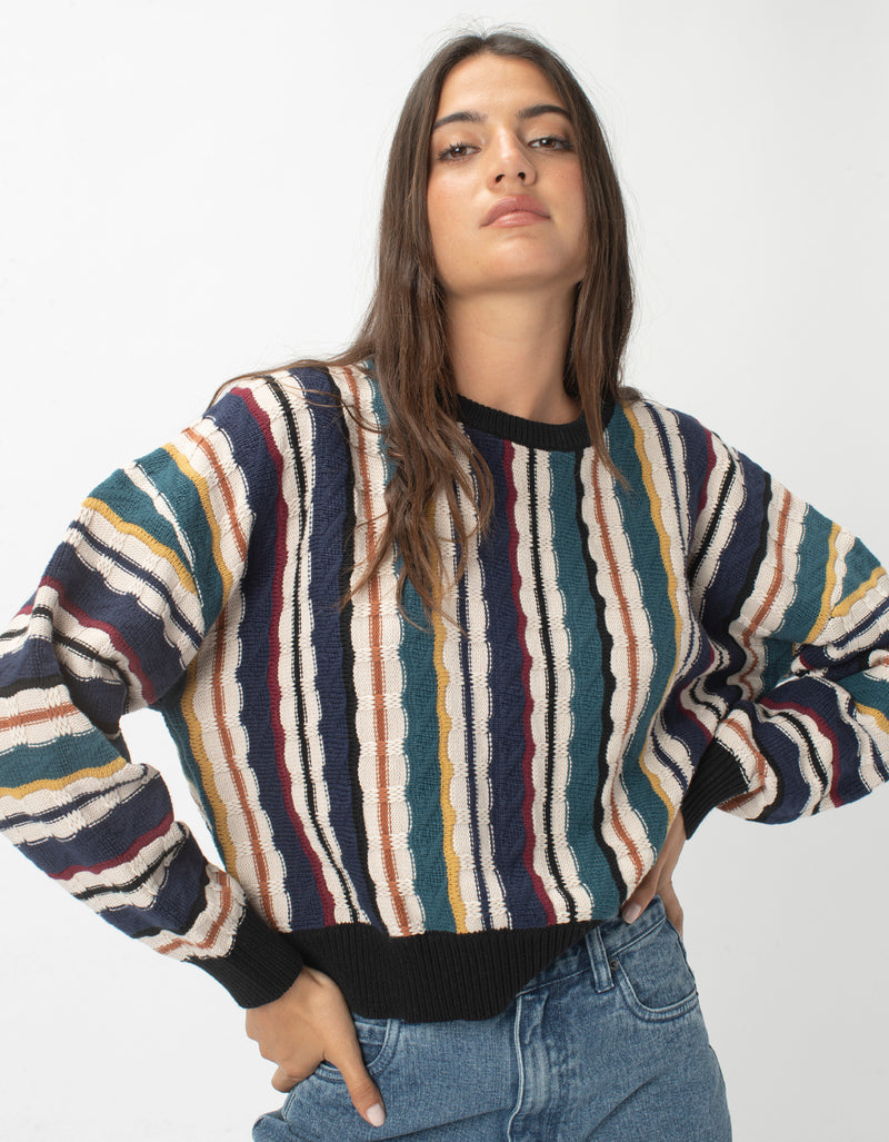 Crew Knit Biggie Stripe