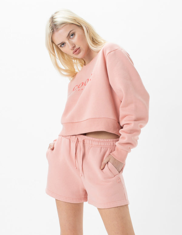 Leisure Club Crew Fleece Candy